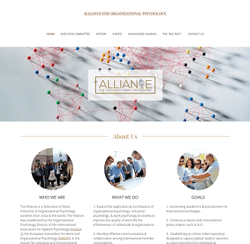 Alliance for organizational psychology