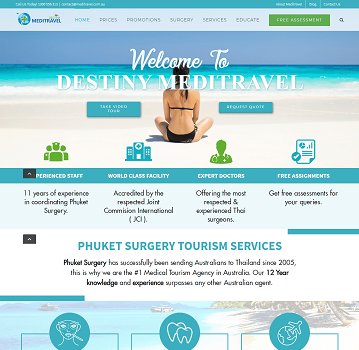Phuket surgery – WordPress Website