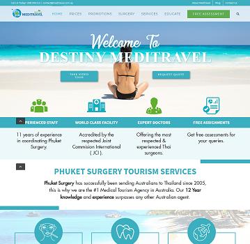 Phuket surgery – WordPress Website