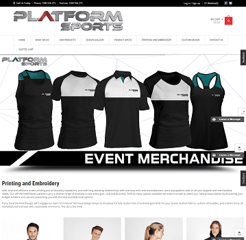 Platform sports